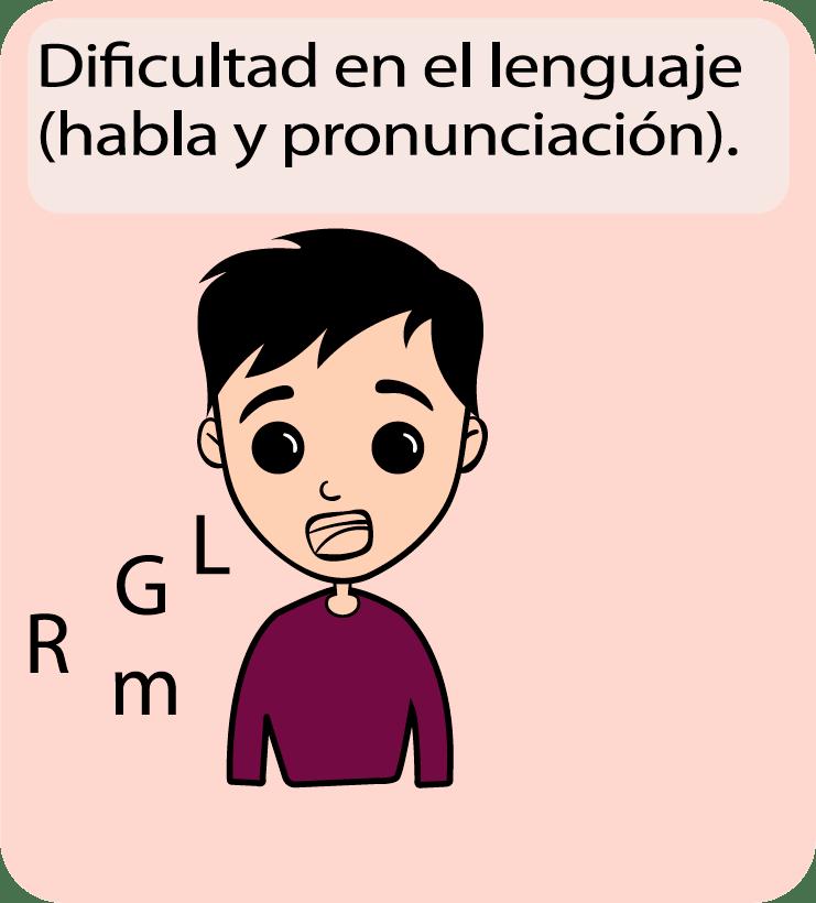 Signos y síntomas de lenguaje