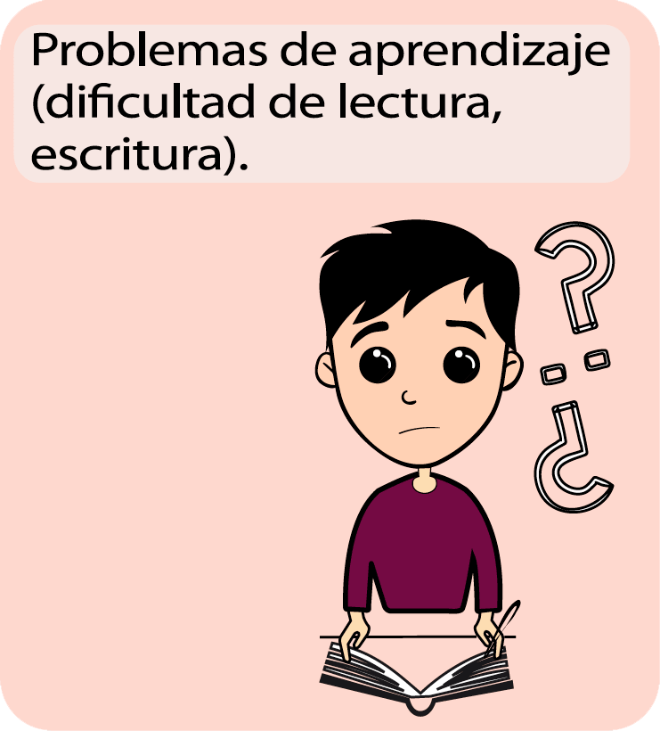 Signos y síntomas en el aprendizaje