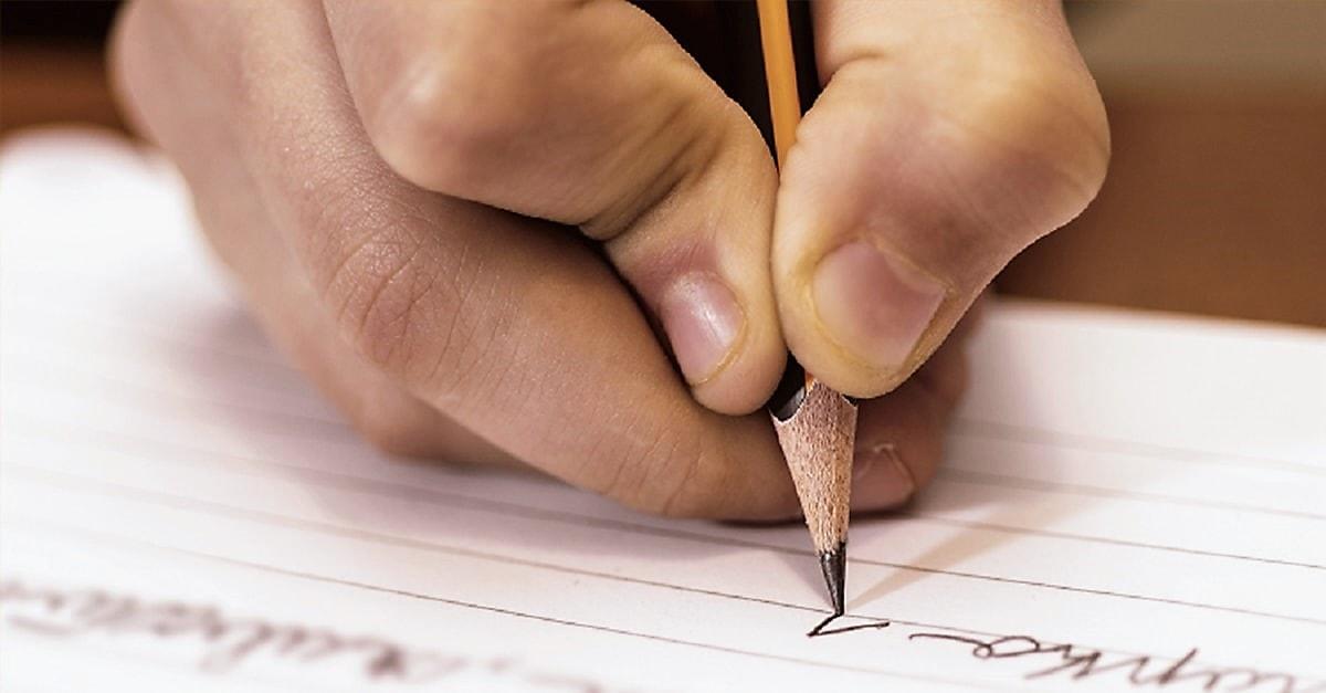 Mala escritura en clase