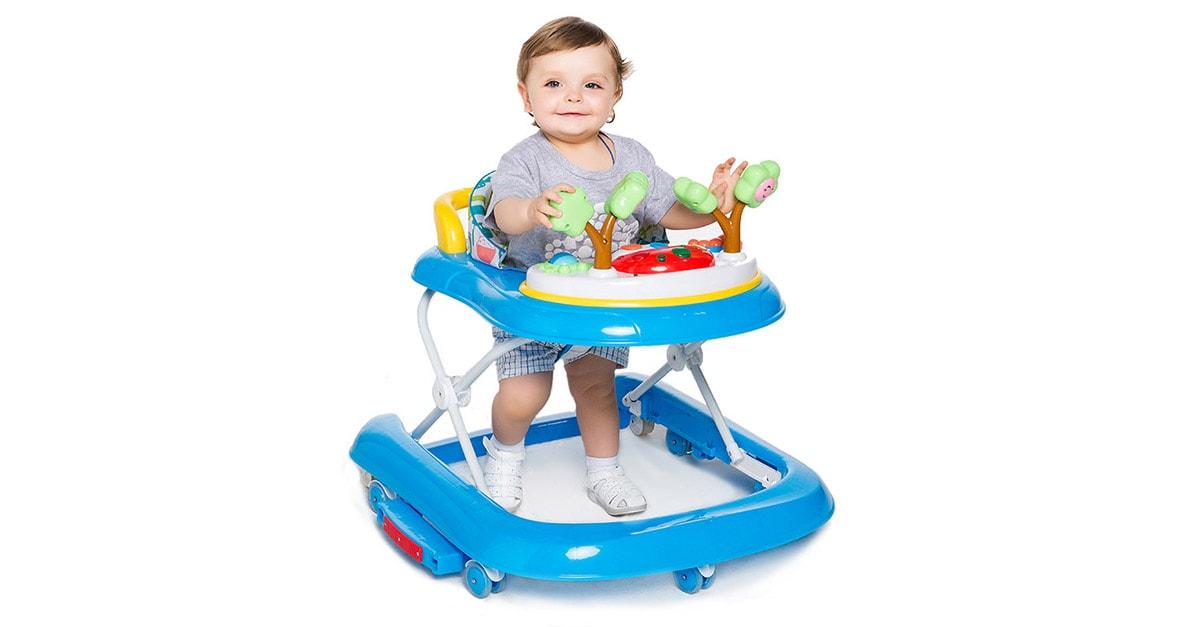 Usar andador, es bueno para un bebé